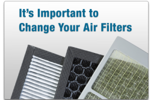 Reminder to change your air filters