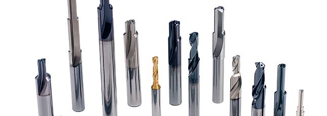 Brocas e alargadores de metal duro