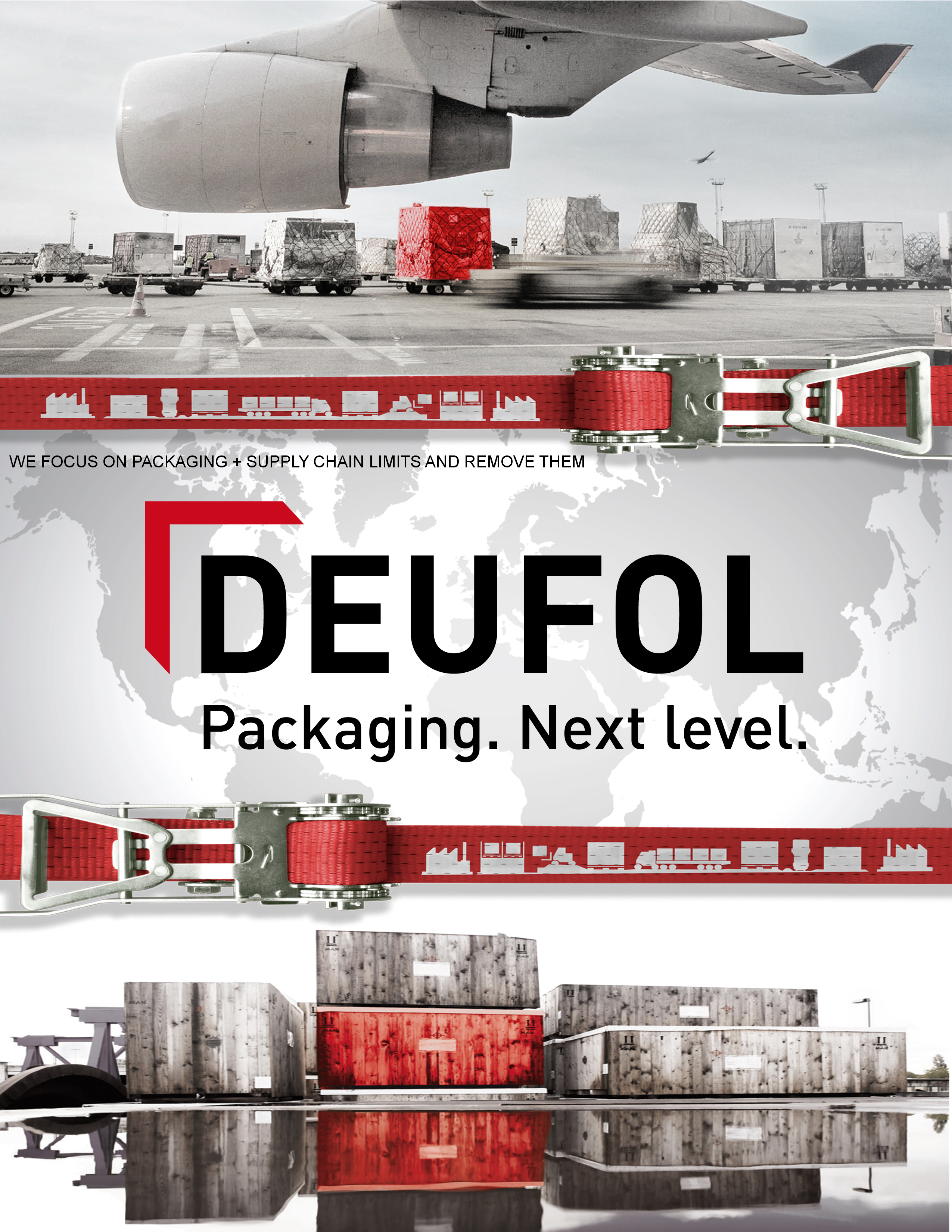 industrial packaging company should be a true partner, and that's what you'll get when you work with Deufol