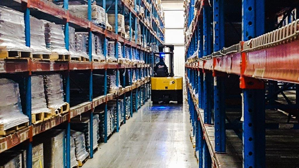 We have over 13.2 million square feet of global warehouse space to store your industrial parts and products.