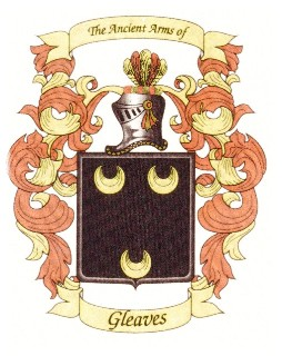 Gleaves Coat of Arms