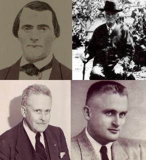 Four generations of Finley Men