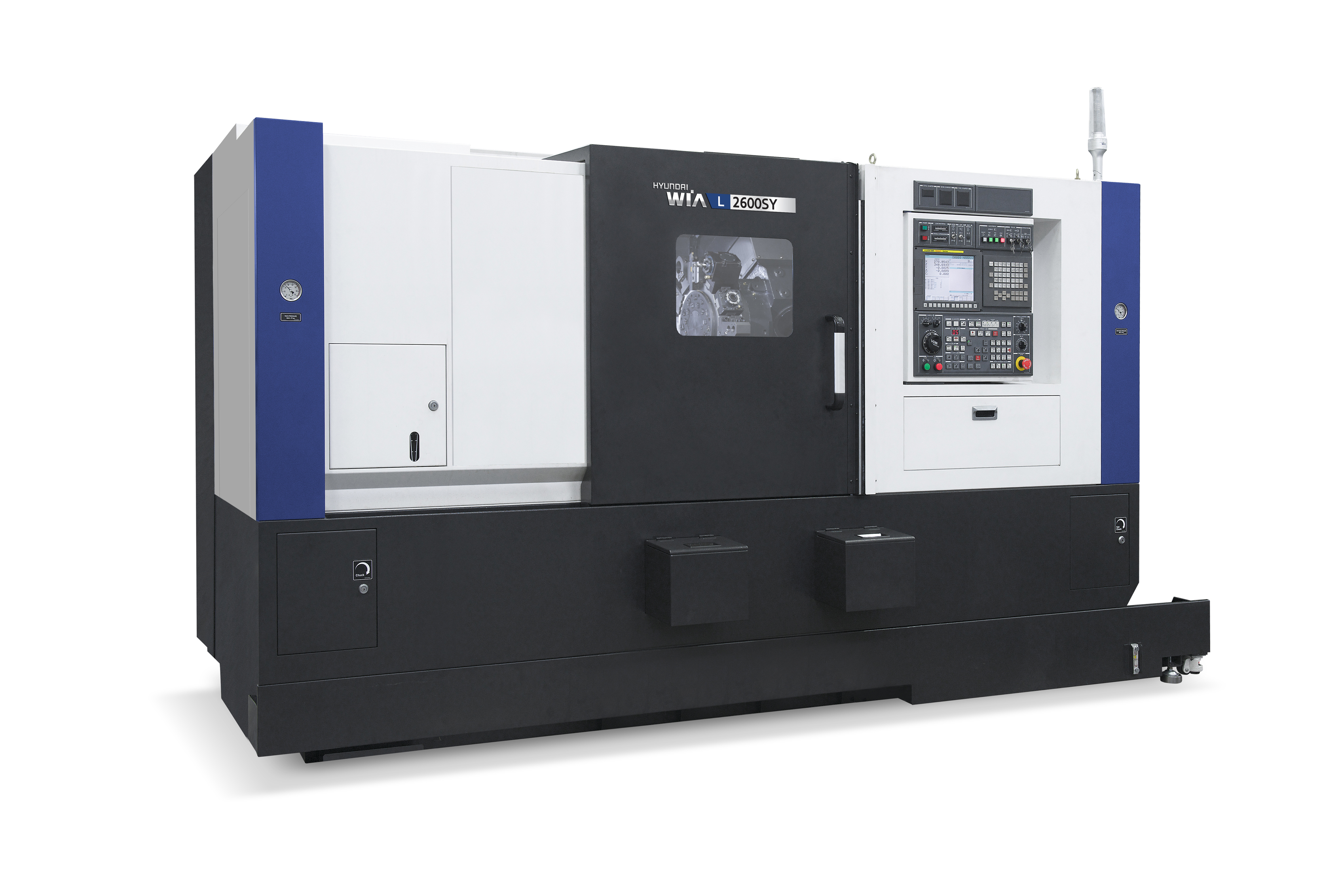 New L2600SY Multi-Tasking Turning Center - Wedge Type Y-Axis CNC Lathe