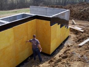 Columbus Ohio New Home Waterproofing Jaco Columbus