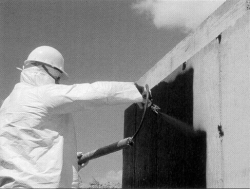 Commercial Spray Waterproofing