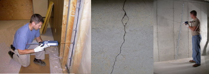 cincinnati basement crack repair - Crack In Basement Wall