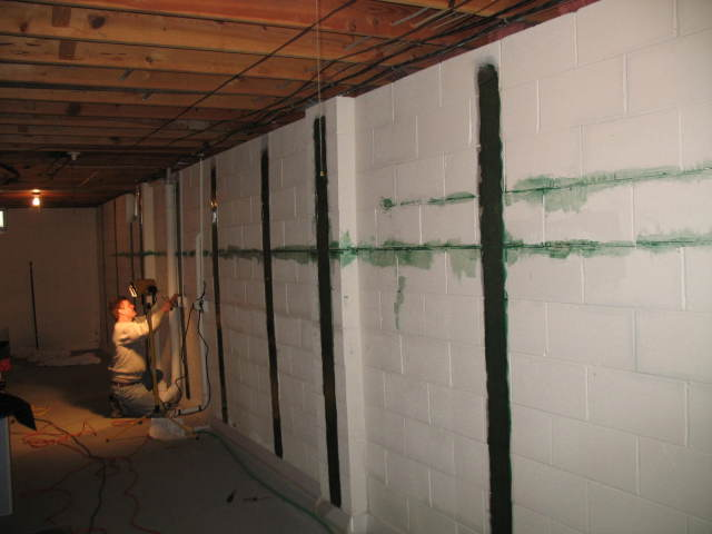 Foundation repair cincinnati dayton oh jaco for Basement foundation walls