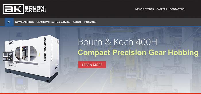 Bourn & Koch website