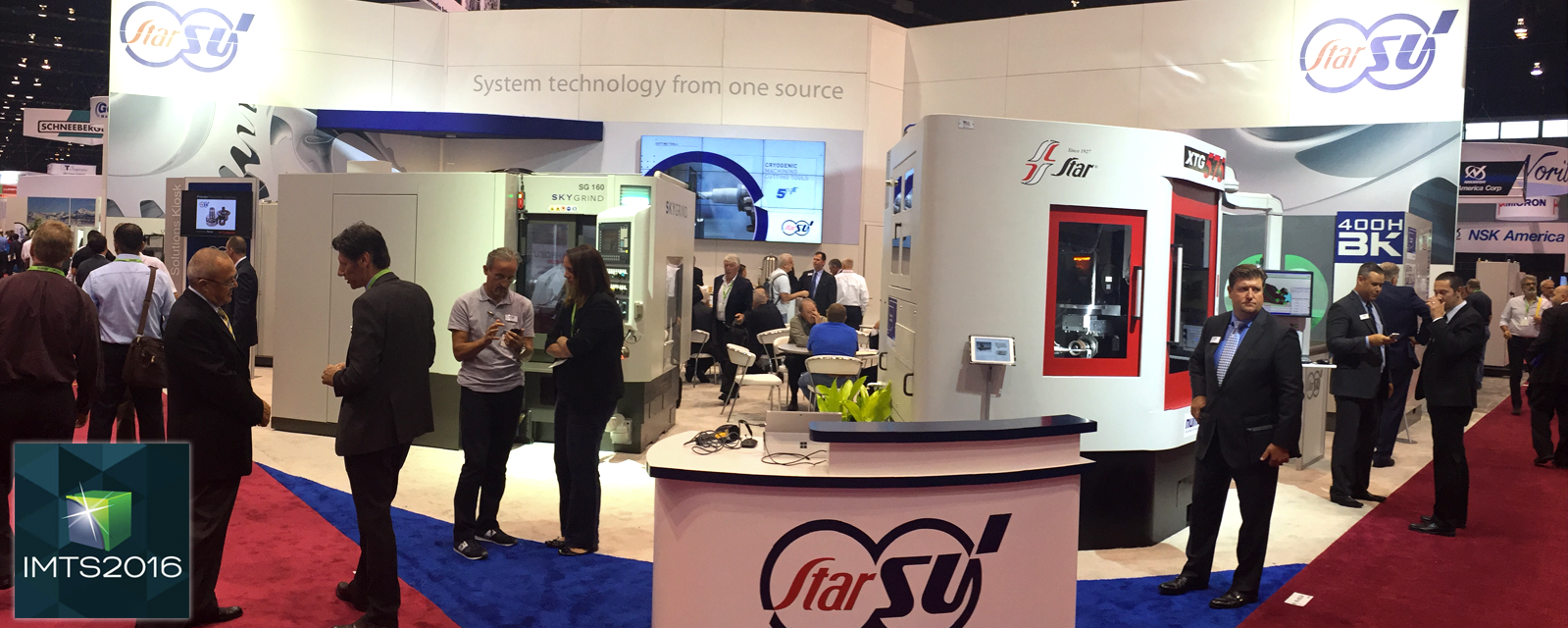 NetCrafters at IMTS