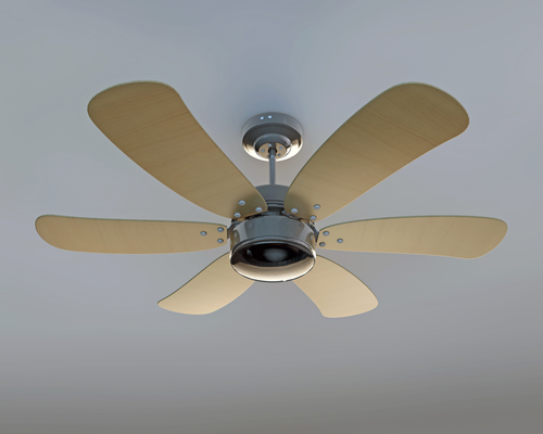 Maximize air conditioning by changing the direction of the ceiling fans aloadofball