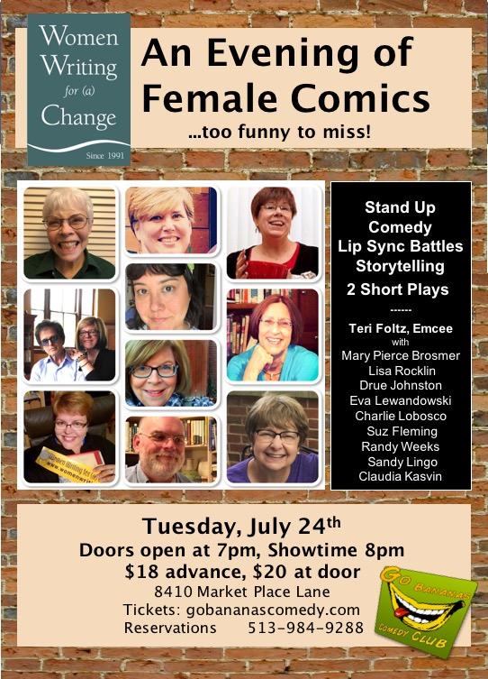 Female Comics Poster